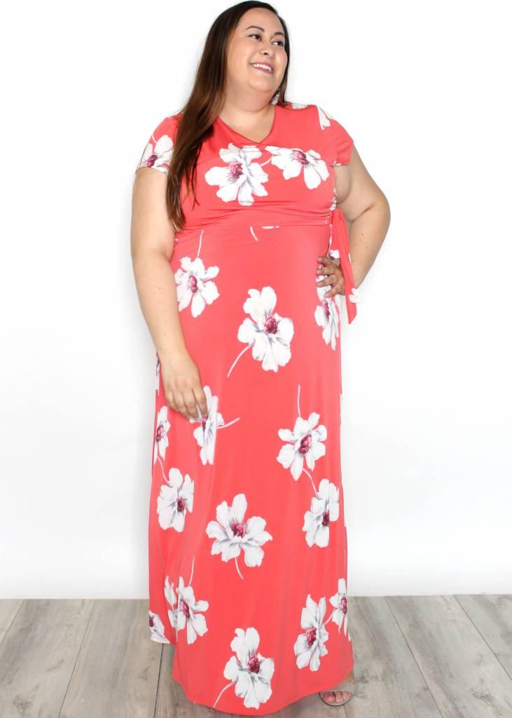 JESSICA FLORAL MAXI DRESS