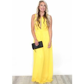 BELLA YELLOW FULL LENGTH GOWN