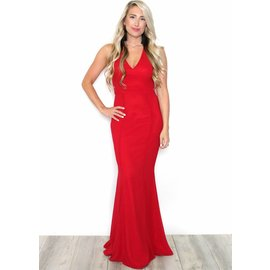 ALONDRA RED FULL LENGTH GOWN