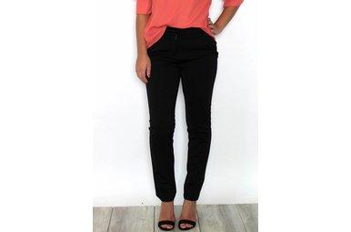 BRITT BLACK RUFFLE DRESS PANTS
