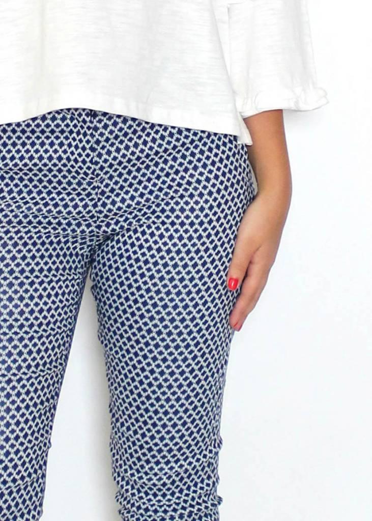 HAILEY PRINTED DRESS PANTS