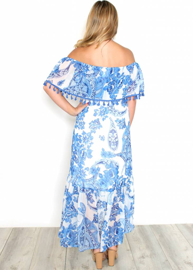 TAMERA OFF THE SHOULDER MAXI DRESS