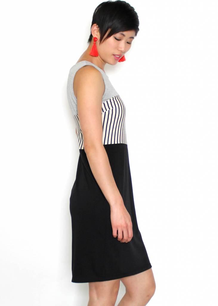 EMMY COLOR BLOCK DRESS