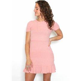 SUZY PINK T-SHIRT DRESS
