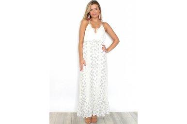 CELIA LACE FLORAL MAXI DRESS