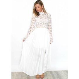 SANDRA EMBROIDERED MAXI DRESS