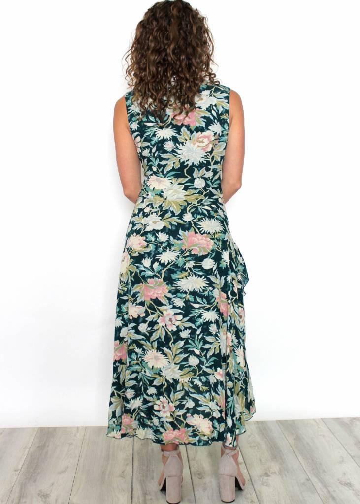 SAMMY SLEEVELESS FLORAL MAXI DRESS