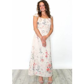 EDEN FLORAL BUTTON UP MAXI DRESS