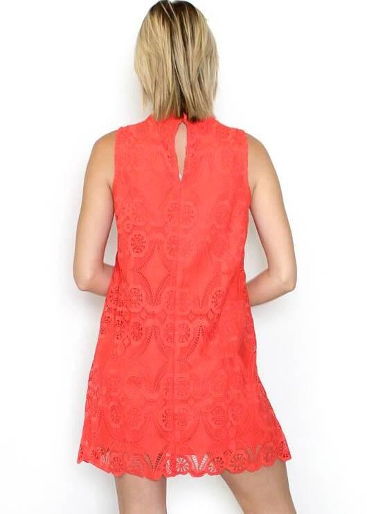 NORA LACE SHIFT DRESS