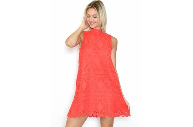 NORA LACE SHIFT DRESS