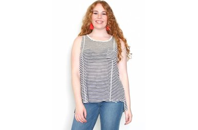 PIPER STRIPED TANK TOP
