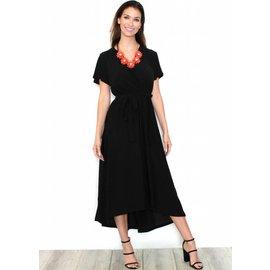 IRIS BLACK MAXI DRESS