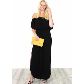 REBECCA OFF THE SHOULDER MAXI DRESS