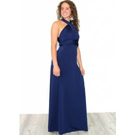 ALANA NAVY FULL LENGTH GOWN