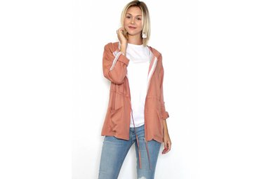 COCO MAUVE LIGHTWEIGHT JACKET