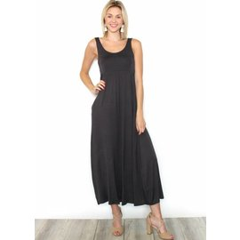 SUNDAY SLEEVELESS MAXI DRESS