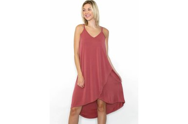 MADELINE MAUVE DRESS