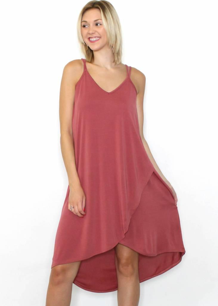 MADELINE MAUVE DRESS