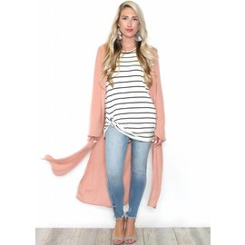 PENNY PINK DUSTER