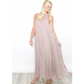 BLAIR MAUVE HALTER MAXI DRESS