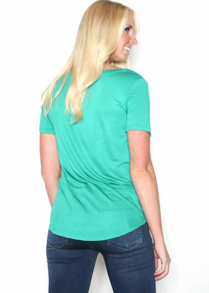 ARIZONA GREEN SHORT SLEEVE T-SHIRT