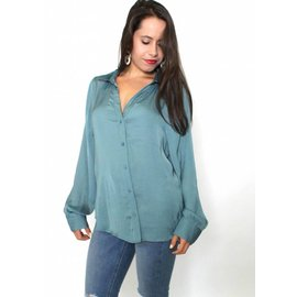 BROOKE SILKY BUTTON UP BLOUSE