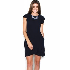 SAVANNAH DARK NAVY DRESS
