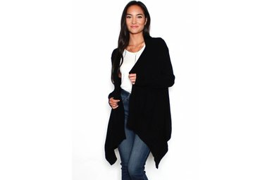 WILLOW SUPER SOFT RIBBED CARDIGAN