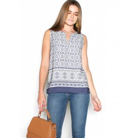 ASHLEY PRINTED TANK TOP