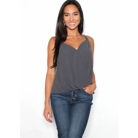 ISABELLE SURPLICE TANK TOP