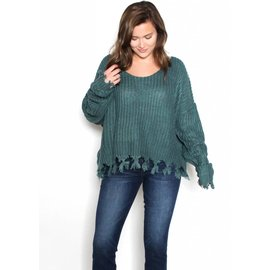 SHERIDAN DISTRESSED SWEATER