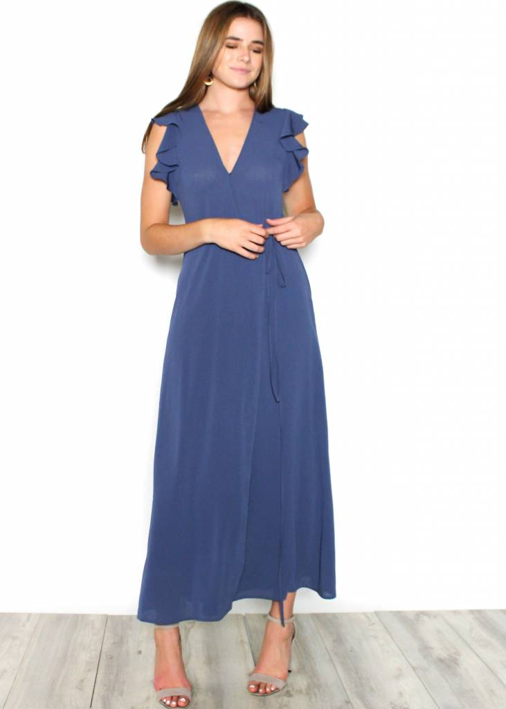 KATNISS RUFFLE MAXI DRESS