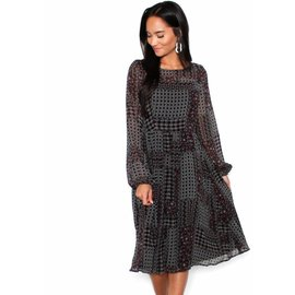 CLAIRE PRINTED MIDI DRESS