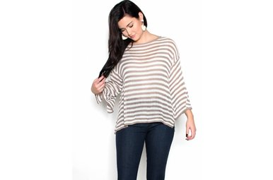 TESSA BELL SLEEVE SWEATER