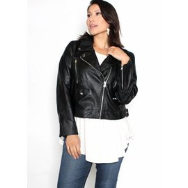 AUDREY LEATHER JACKET
