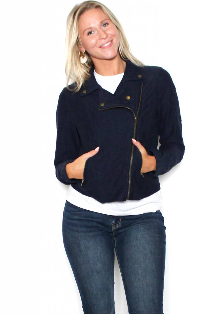 TABITHA NAVY JACKET