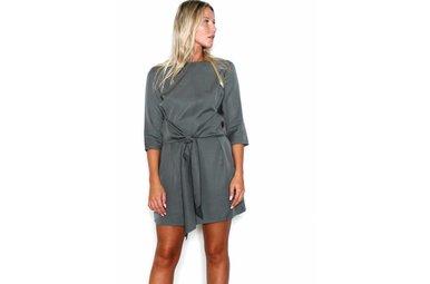 CORA FRONT TIE DRESS