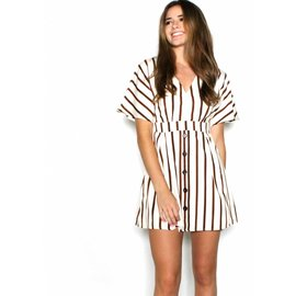 ISABELLA STRIPED DRESS