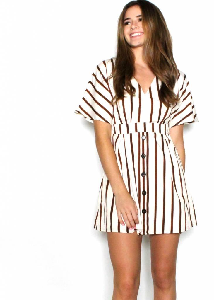 ISABELLA STRIPED DRESS