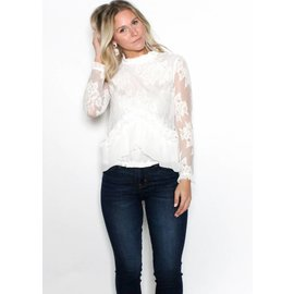 LOLA LACE BLOUSE