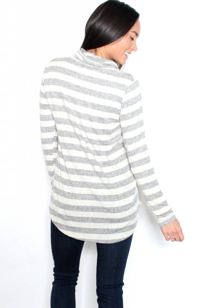 SHANNON COWL NECK SWEATER