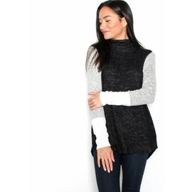 RAELYN COLOR BLOCK SWEATER