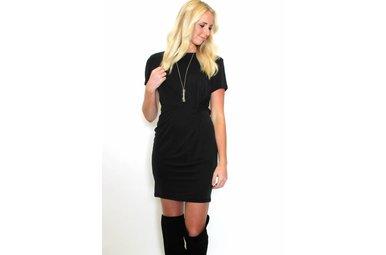 BLAKE KNOTTED T-SHIRT DRESS