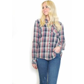 KENNEDY PLAID BUTTON UP