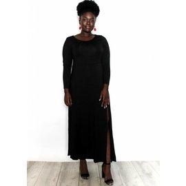 NIKKI BLACK MAXI DRESS