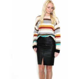 KLARA STRIPED SWEATER