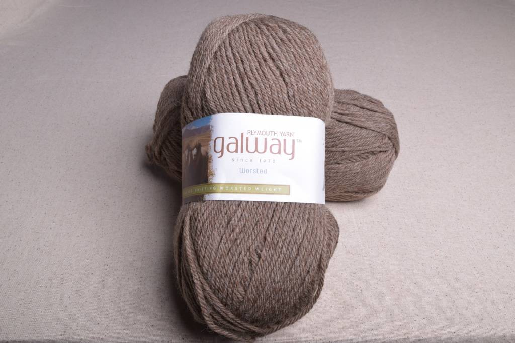 Plymouth Galway Worsted 711 Brown Heather