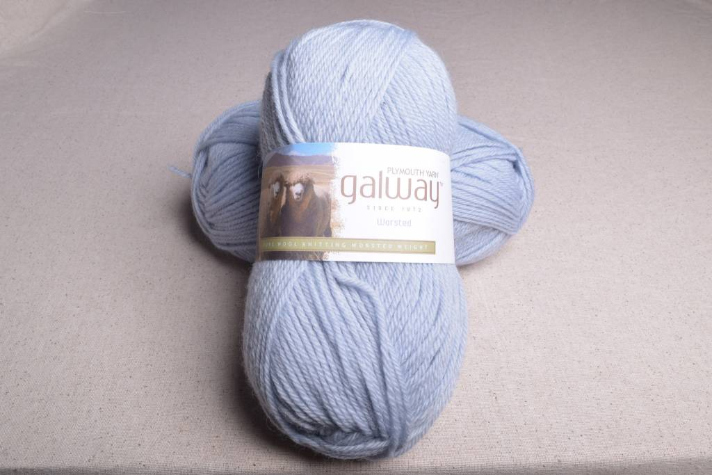 Image of Plymouth Galway Worsted 190 Silver