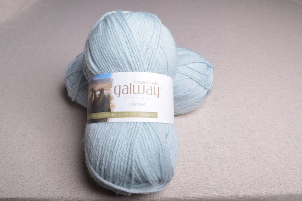 Plymouth Galway Worsted 172 Sea Foam