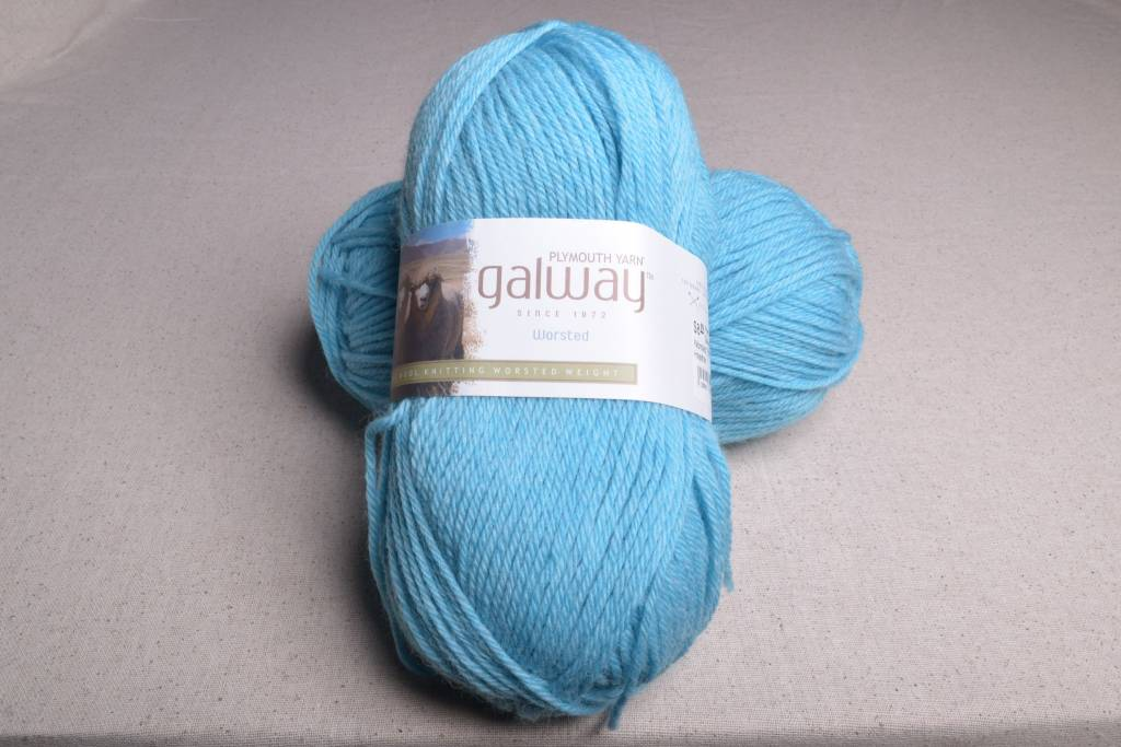 Plymouth Galway Worsted 769 Lapis Heather